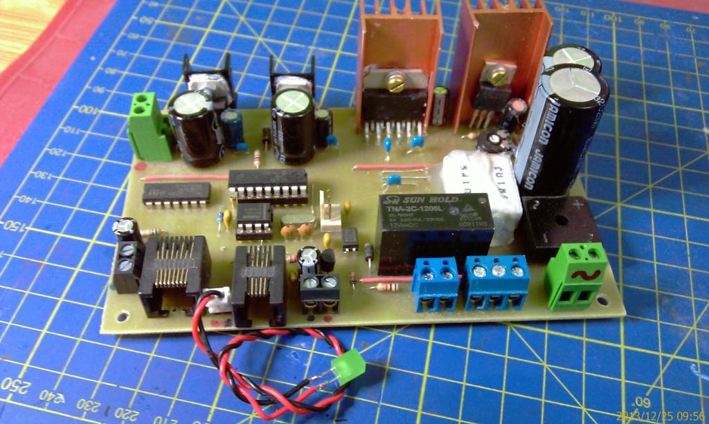 Centrála Nano-X / S88 (vlastní výroba)