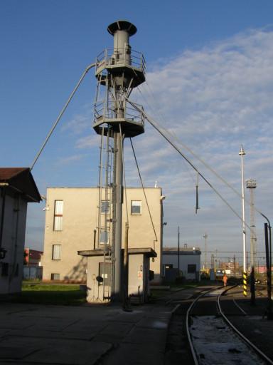 Pískovací věž v Depu Pardubice (foto O.Čížek)