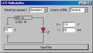 Obr. 6 - Použití kalkulačky od Michala