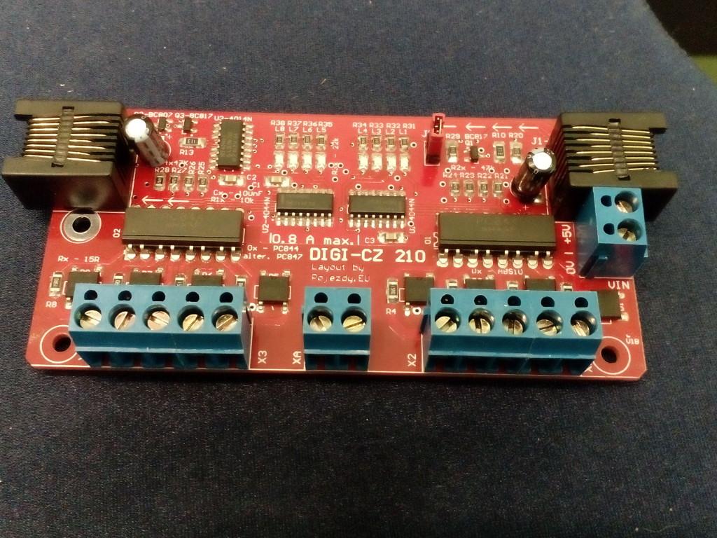 Nová verze DIGI-CZ 210