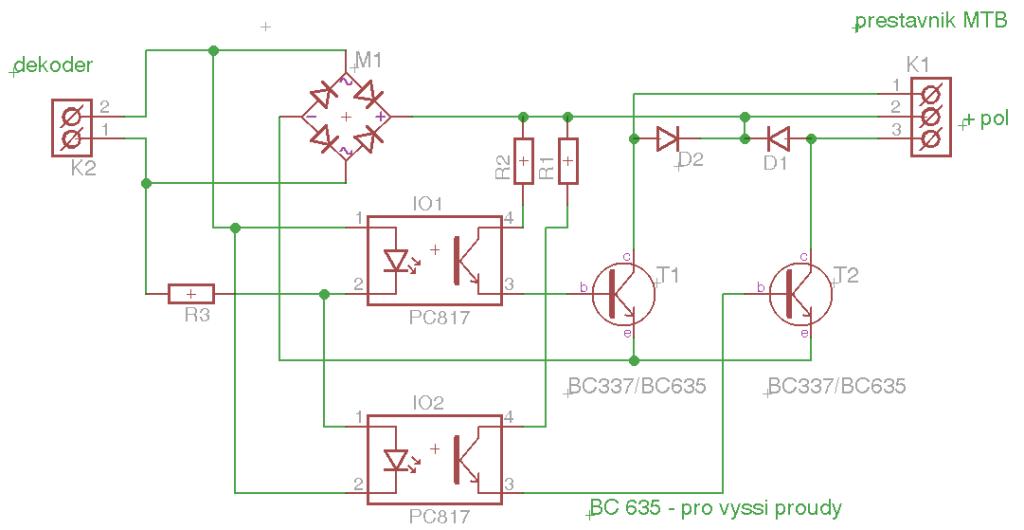 Obr. 1 Principální schéma zapojení